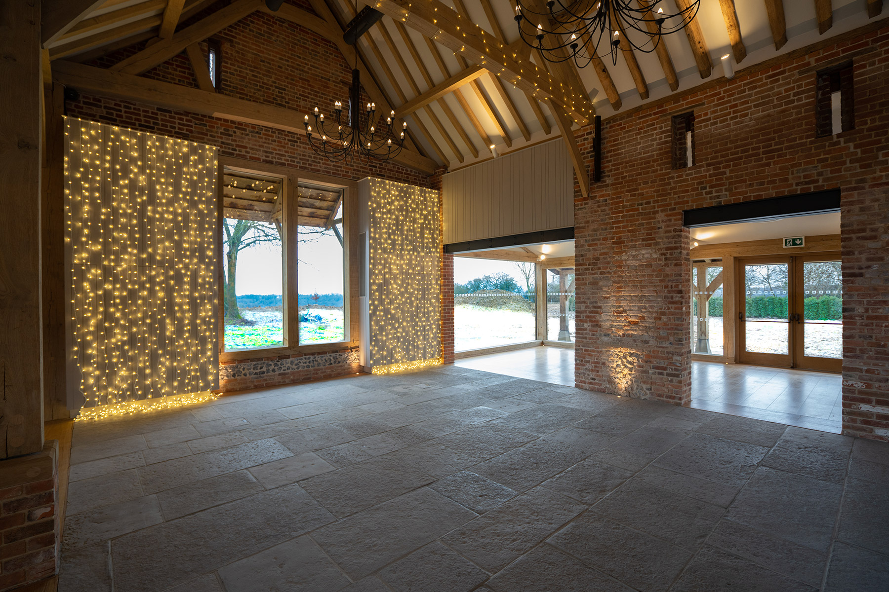 Rackleys Wedding Barn Interior Buckinghamshire