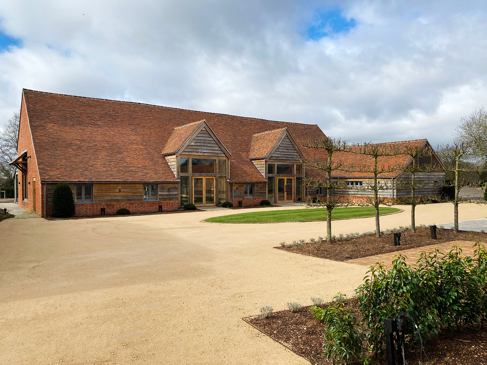 Rackleys Chiltern Hills Courtyard