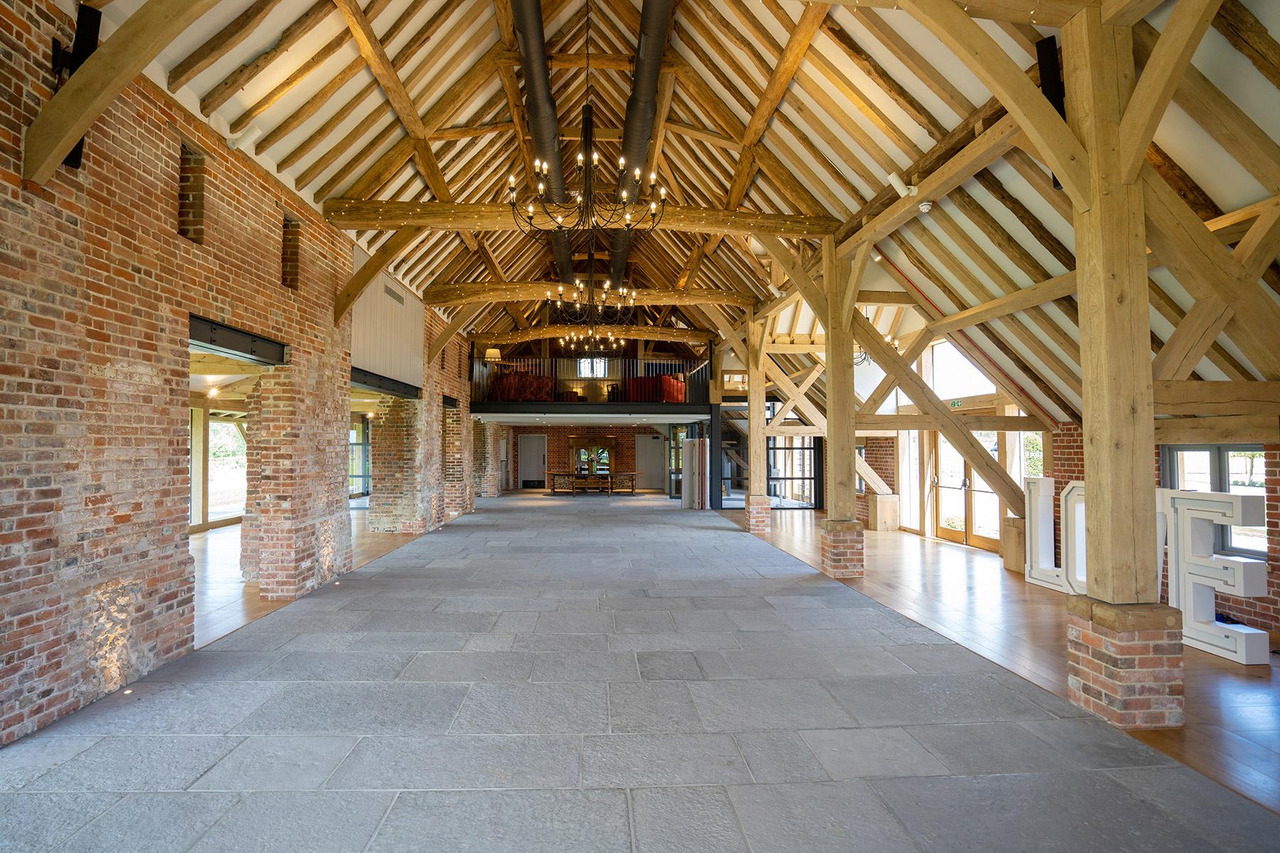 Rackleys Wedding Barn Venue Interior Buckinghamshire