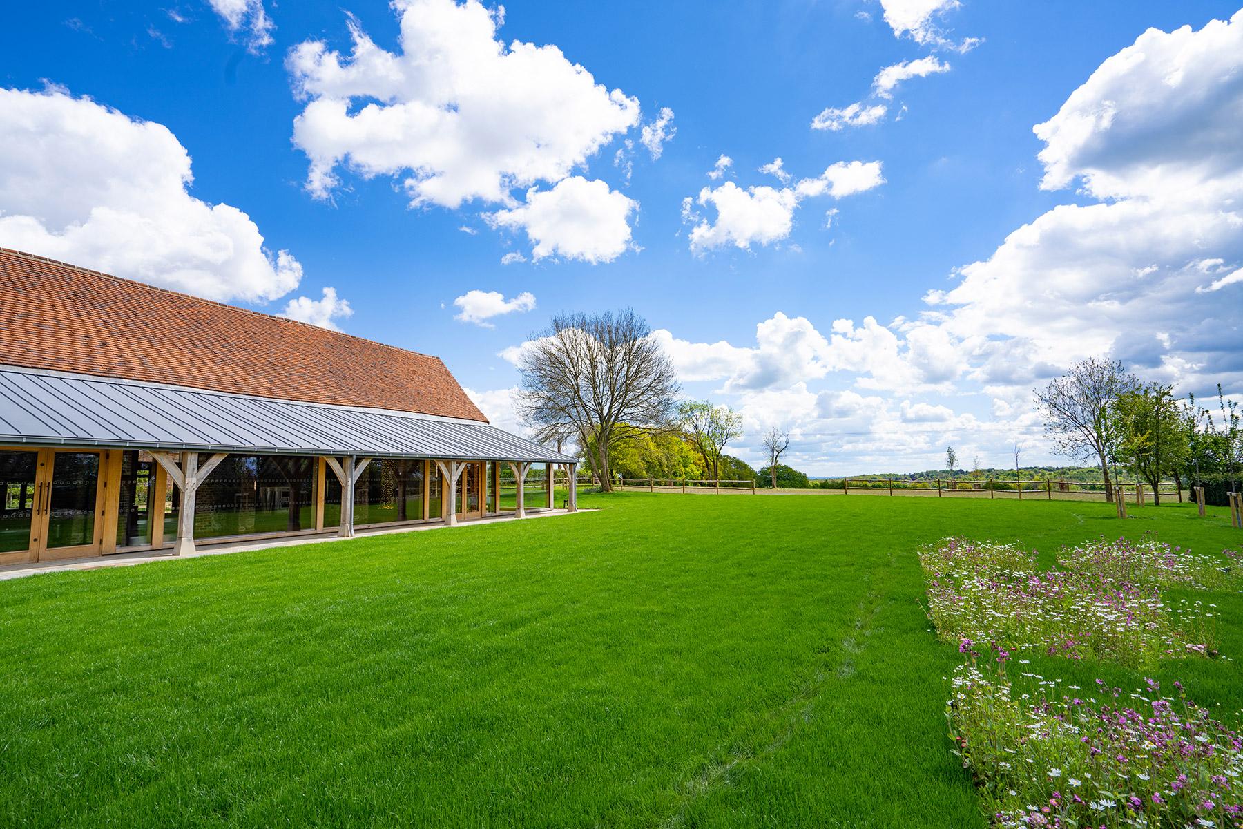 Rackleys Wedding Barn Grounds Chiltern Hills