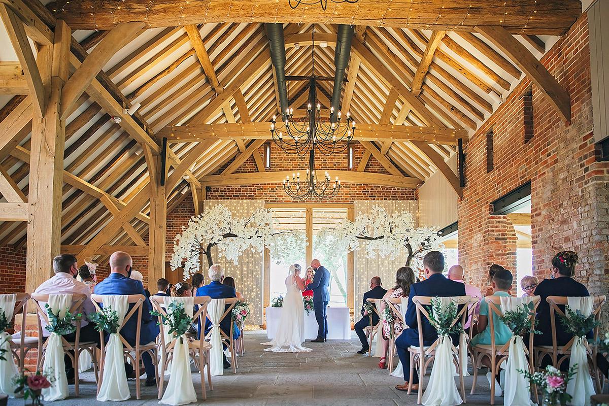 Weddings at Rackleys Wedding Barn