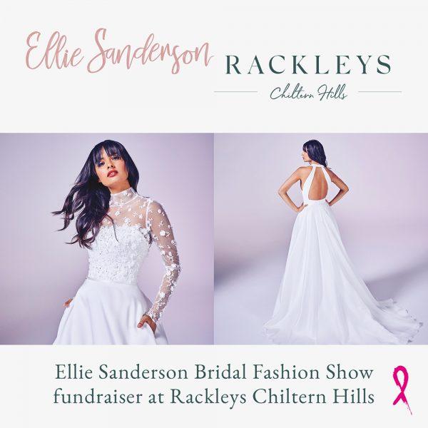 Ellie Sanderson Bridal Fashion Show fundraiser at Rackleys Chiltern Hills
